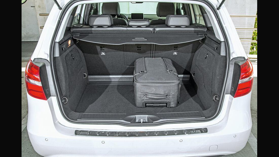 Mercedes B-Klasse Electric Drive, Kofferraum