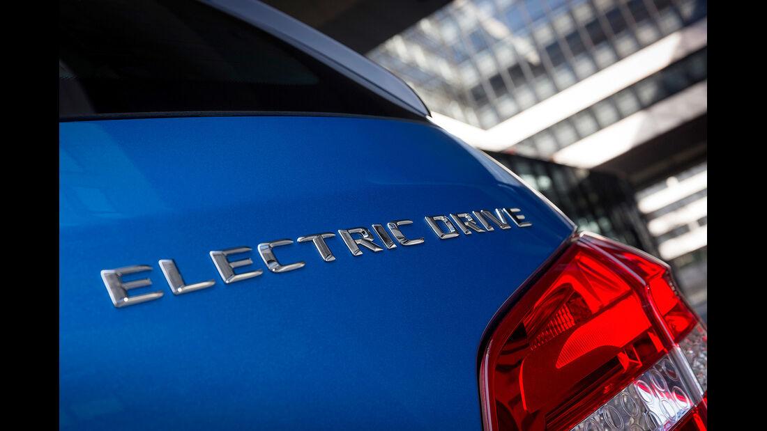 Mercedes B-Klasse Electric Drive, Modellbezeichnung