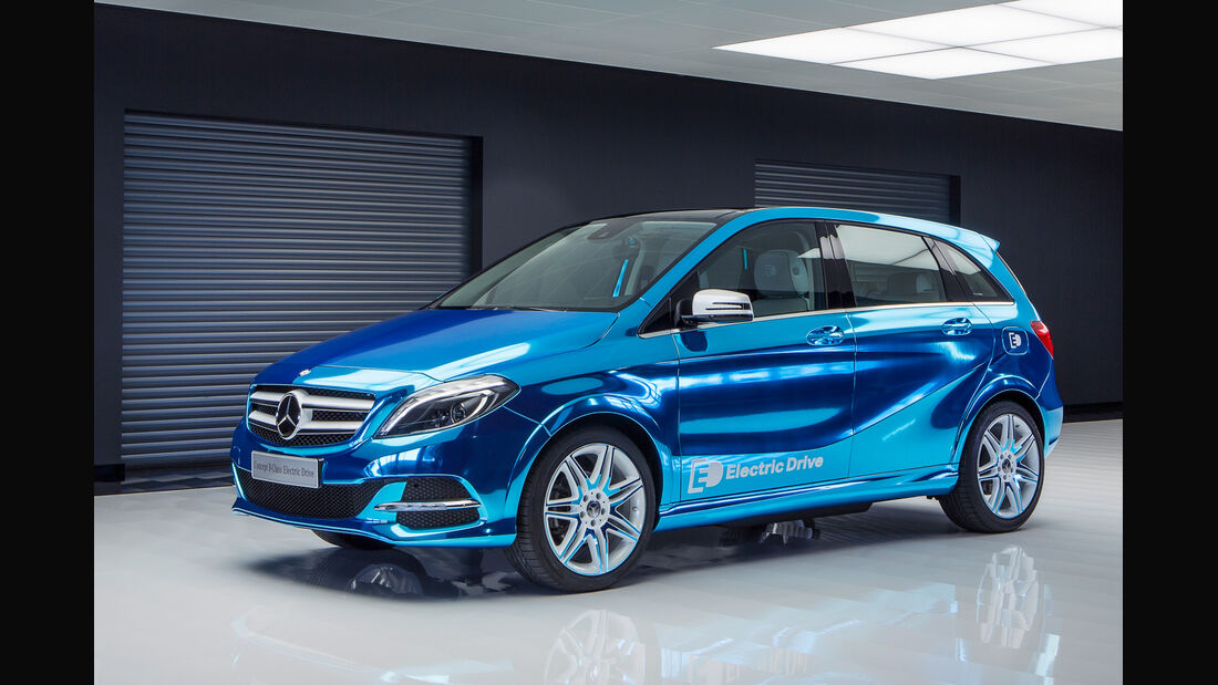 Mercedes B-Klasse Electric Drive, Seitenansicht