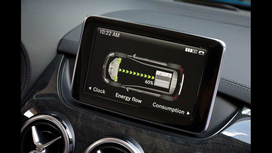 Mercedes B-Klasse Electric Drive, Zentralbildschirm