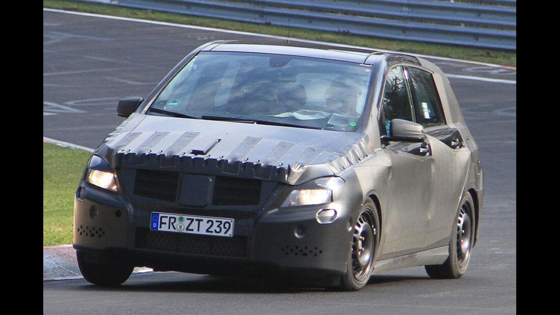 Mercedes B-Klasse Erlkönig
