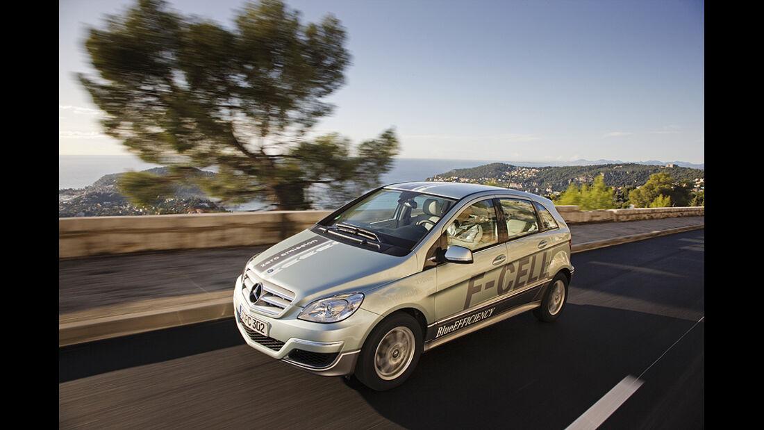 Mercedes B-Klasse F-Cell, Brennstoffzellenauto mit E-Motor