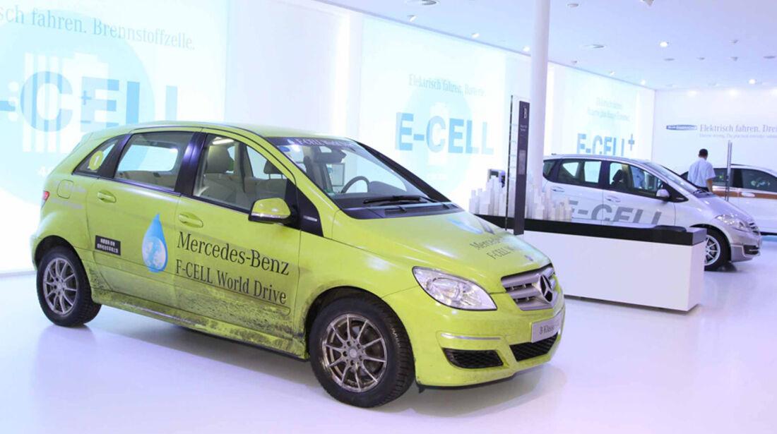 Mercedes, B-Klasse, F-Cell, IAA 2011