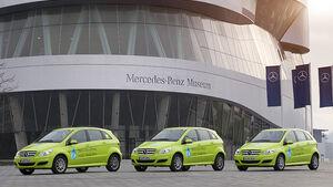 Mercedes B-Klasse F-Cell Welttour, Karte