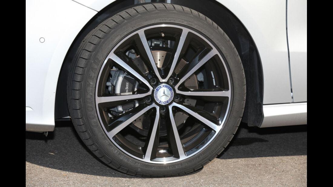 Mercedes B-Klasse, Felge, Rad