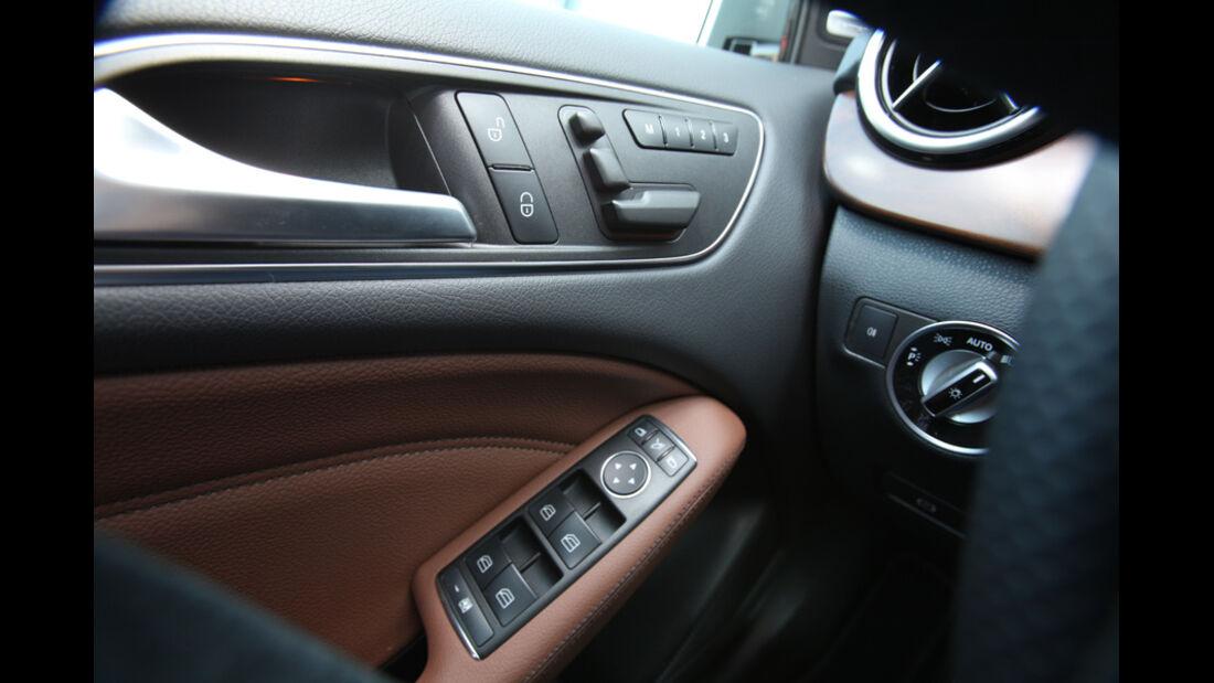 Mercedes B-Klasse, Fensterheber