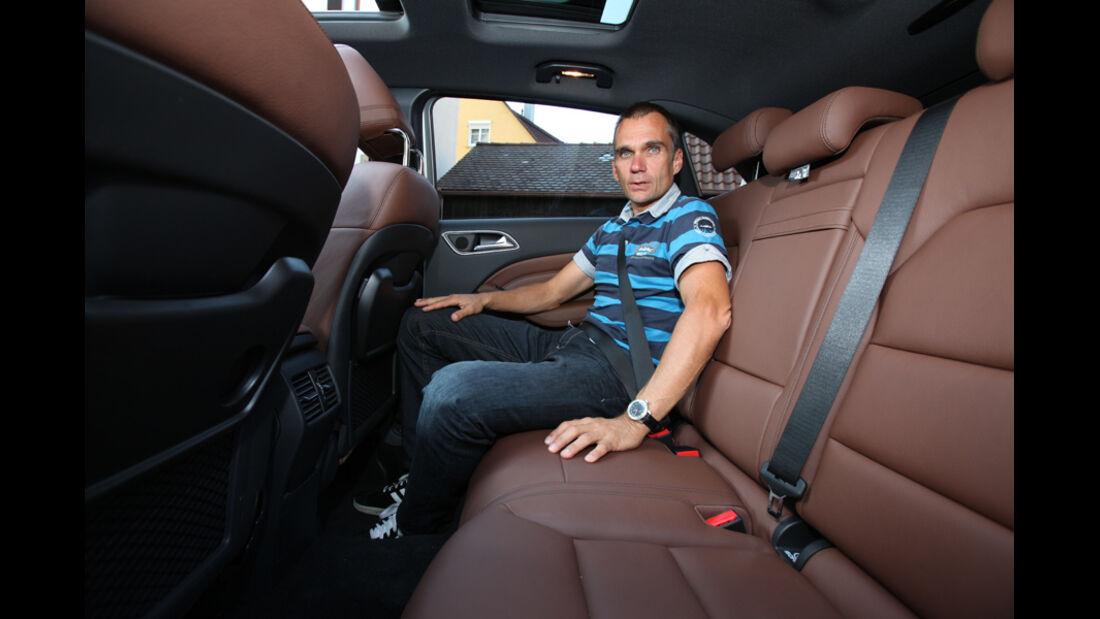 Mercedes B-Klasse, Fond