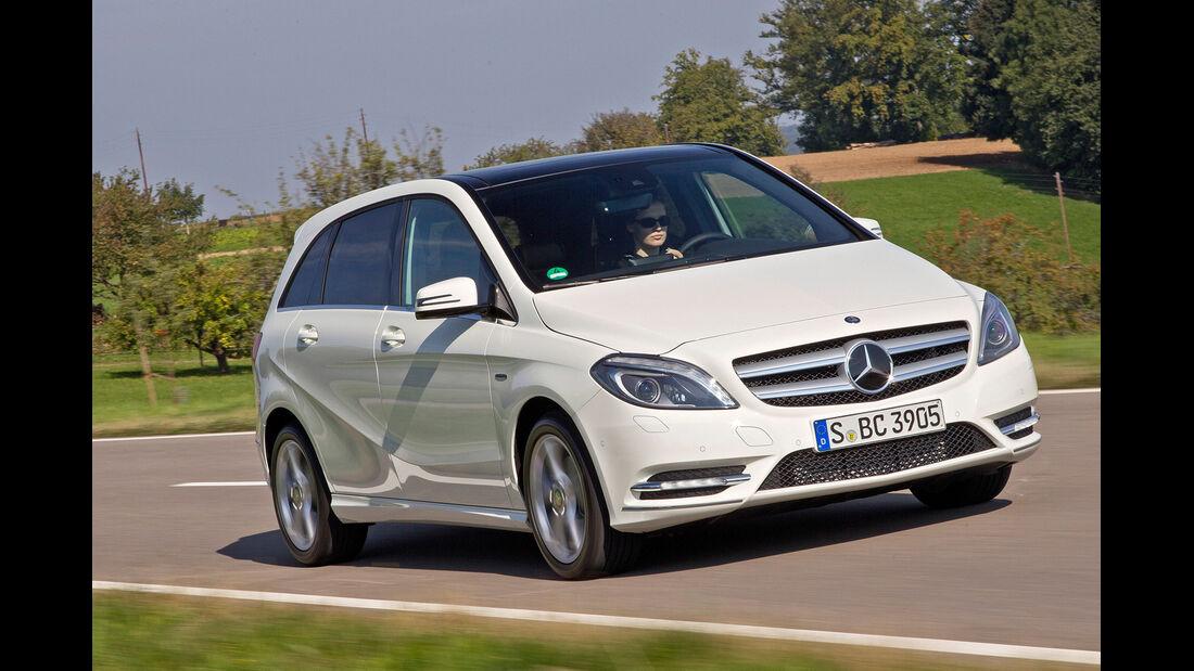 Mercedes B-Klasse, Frontansicht