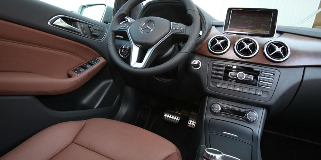 Mercedes B-Klasse, Innenraum
