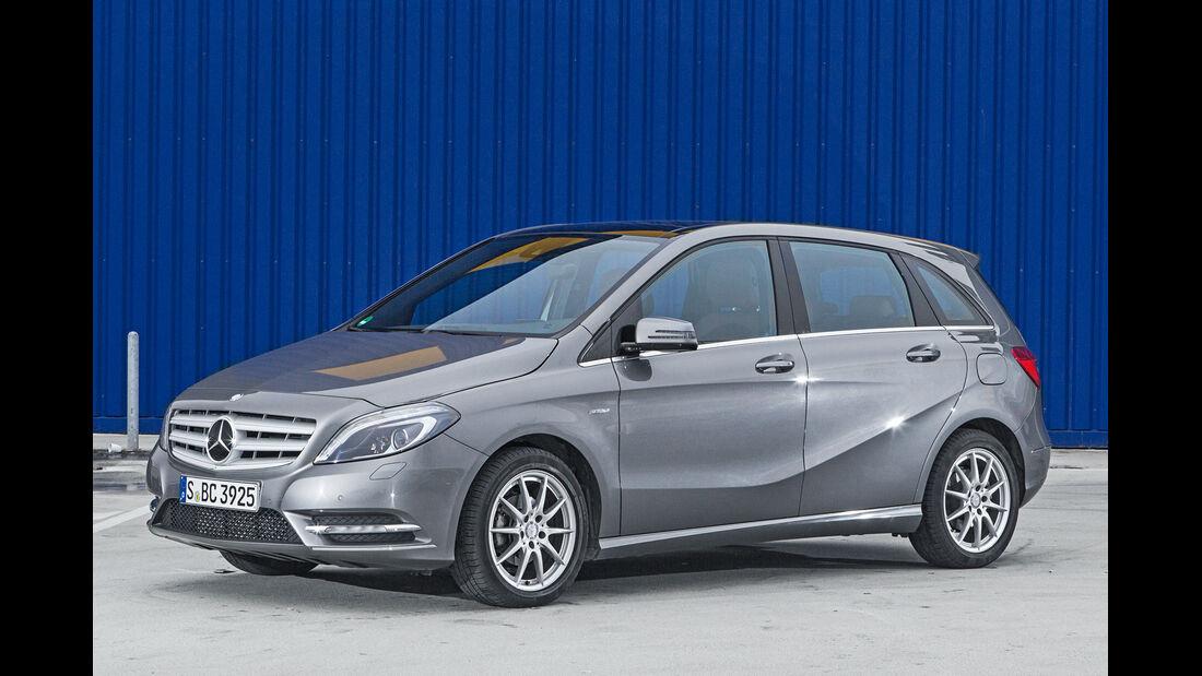 Mercedes B-Klasse, Seitenansicht