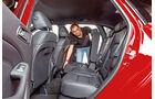 Mercedes B-Klasse, Sitz umklappen