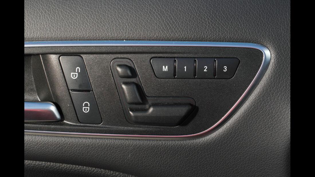 Mercedes B-Klasse, Tasten