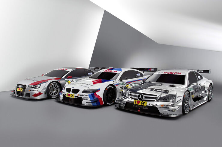 Mercedes BMW Audi DTM 2012