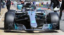Mercedes - Barcelona F1-Test 2018