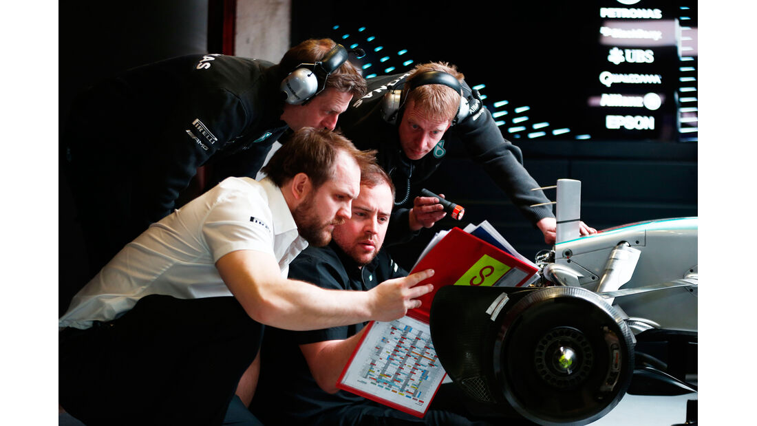 Mercedes - Barcelona Test 2 - 2015