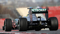 Mercedes Barcelona Test F1 2013
