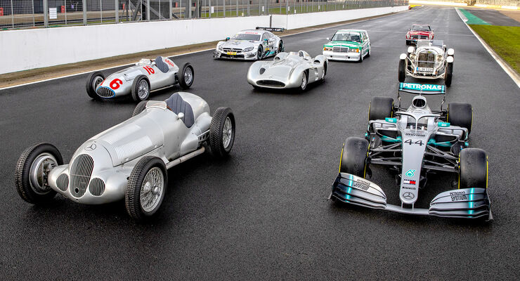 Mercedes-Benz - 125 Jahre Motorsport - Party Silverstone - 2019