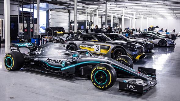 Mercedes-Benz - 125 Jahre Motorsport - Party Silverstone - 2019