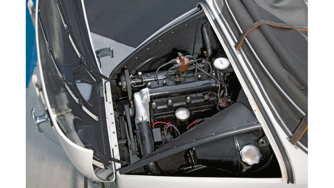 Mercedes-Benz 130, W 23, Baujahr 1935 Motor