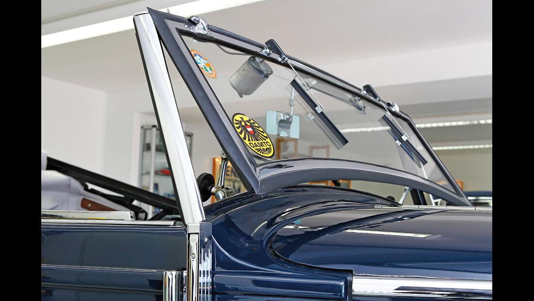 Mercedes-Benz 170 Cabriolet, Frontscheibe