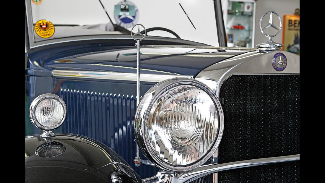 Mercedes-Benz 170 Cabriolet, Frontscheinwerfer