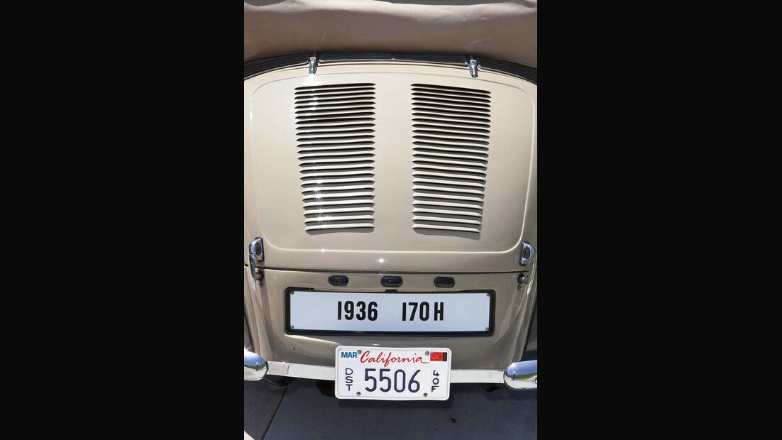 Mercedes-Benz 170 H, W 28, Baujahr 1938 Heckpartie