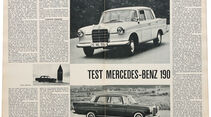 Mercedes-Benz 190, Alter Artikel