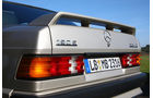 Mercedes-Benz 190 E 2.3-16 - Heckspoiler und Schriftzug