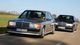 Mercedes-Benz 190 E 2.3-16 und Mercedes-Benz 190 E 2.5-16 - Fahraufnahme