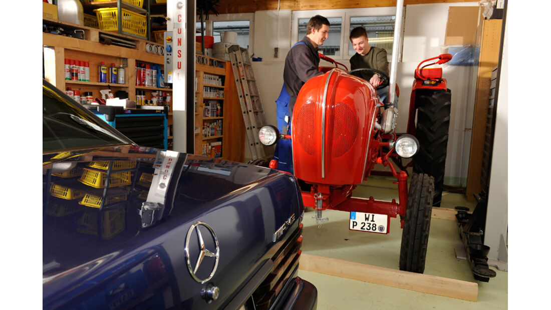 Mercedes-Benz 190 E 2.3, Porsche-Trecker