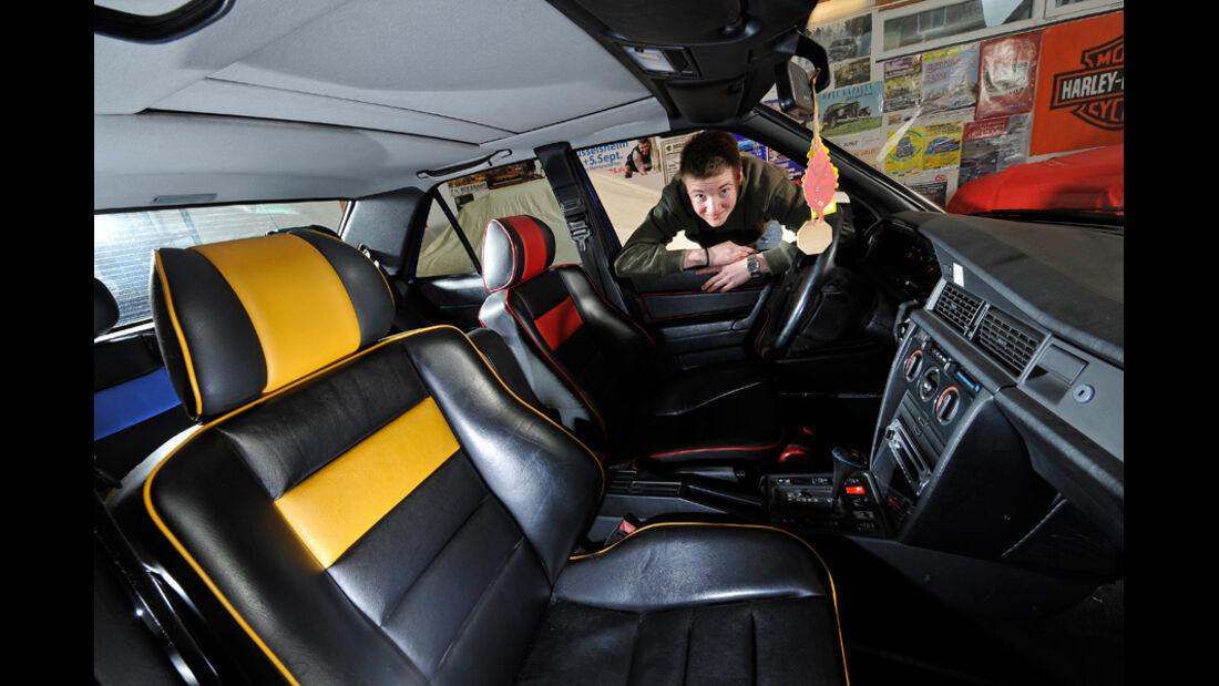 Mercedes-Benz 190 E 2.3, Steffen Florschütz, Cockpit