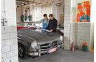Mercedes-Benz 190 SL, Frontansicht, Hans Kindermann