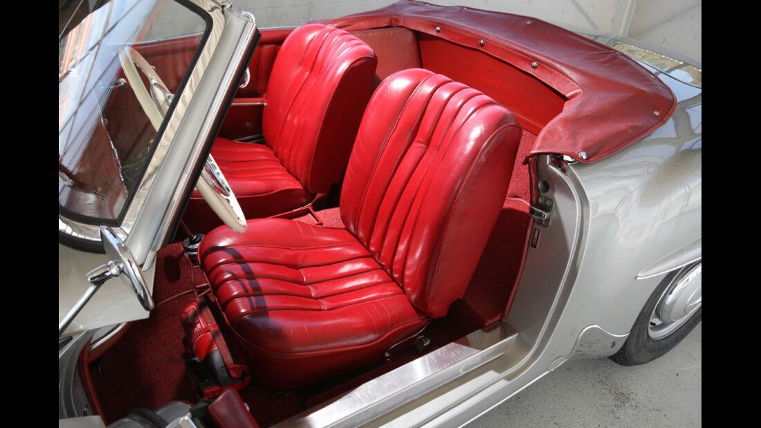 Mercedes-Benz 190 SL, Sitze