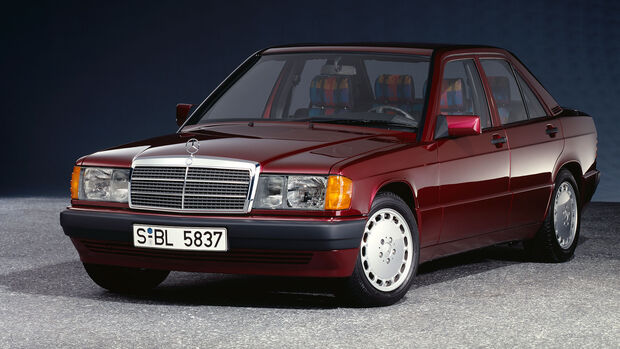 Mercedes-Benz 190E 1.8 Avantgarde Rosso 1993