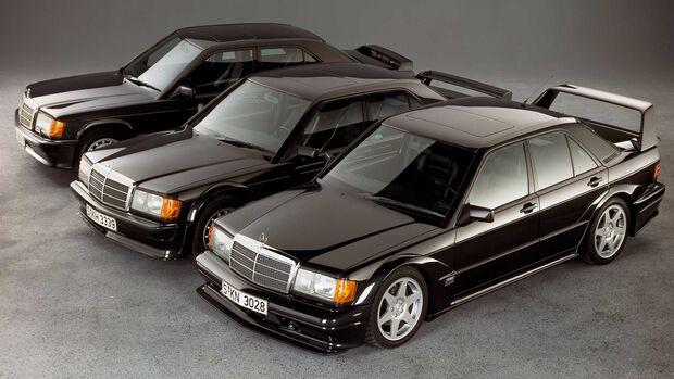 Mercedes-Benz 190E 2.3-16 2.5-16 Evo I Evo 2 (1990)
