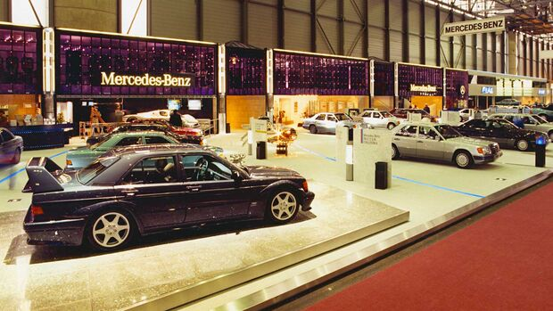Mercedes-Benz 190E 2.5-16 Evo 2 Genfer Auto Salon 1990