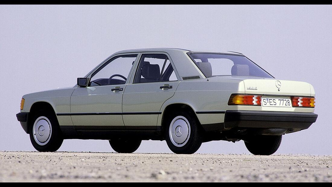 Mercedes-Benz 190E W201 Exterieur Heck