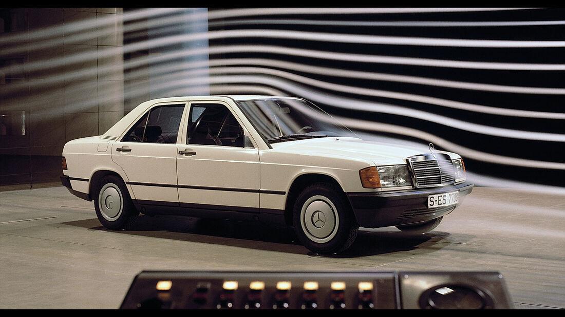 Mercedes-Benz 190E W201 Windkanal