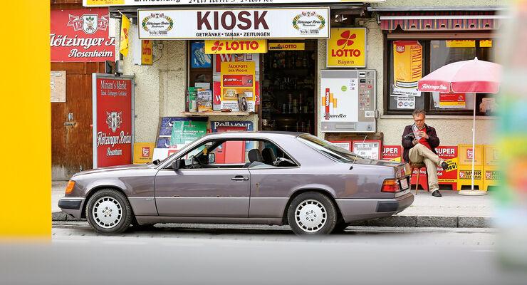Mercedes-Benz 230 CE, C124, Seitenansicht