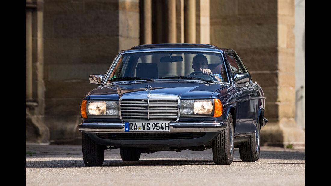 Mercedes-Benz 230 CE, Frontansicht