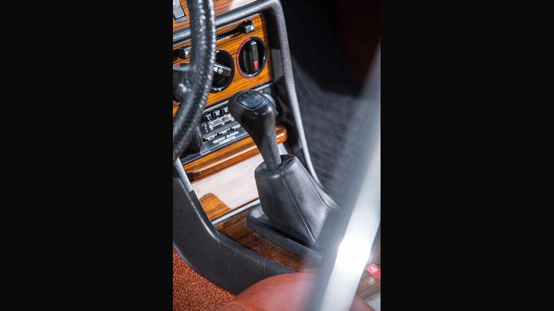 Mercedes-Benz 230 CE, Schalthebel
