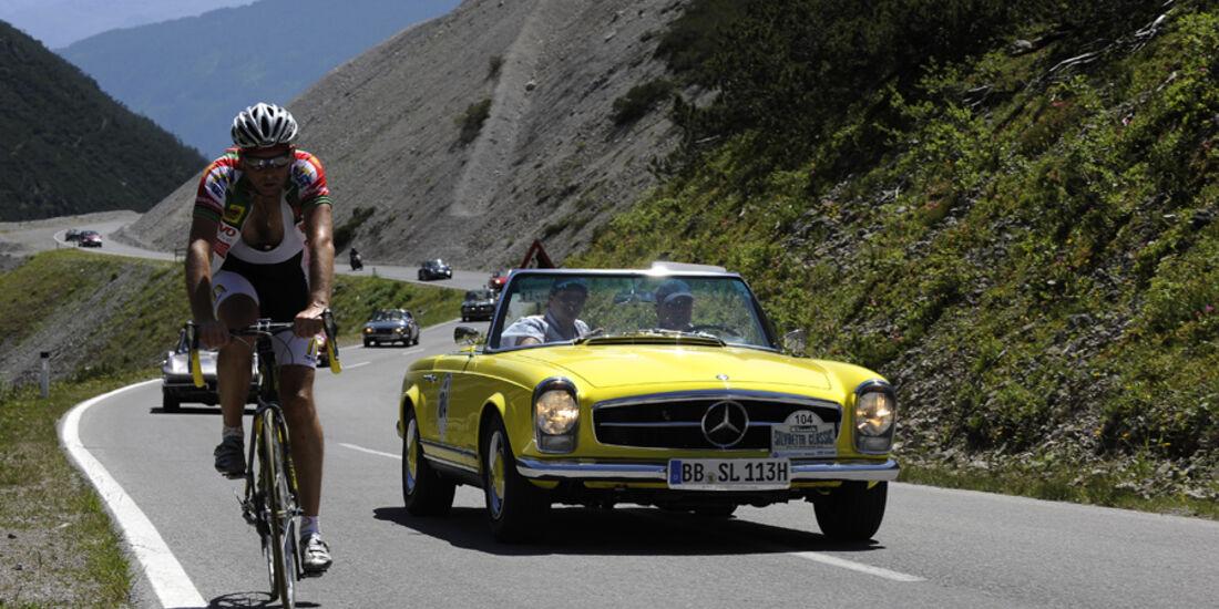Mercedes-Benz 230 SL - Silvretta Classic 2010