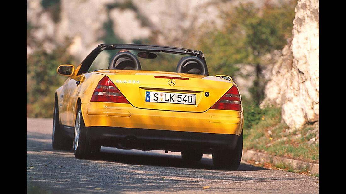Mercedes-Benz 230 SLK, Seitenansicht
