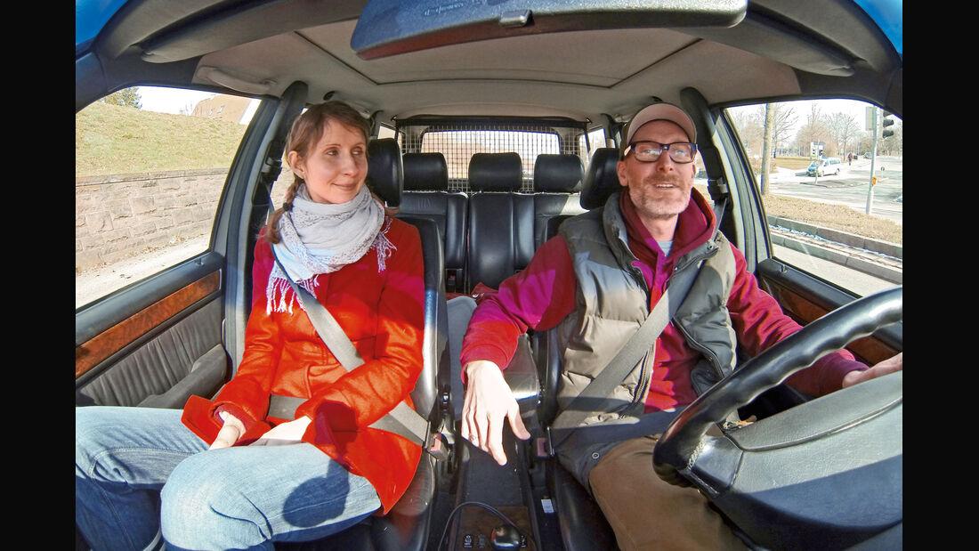 Mercedes-Benz 230 TE, Cockpit, Michael Orth