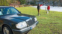 Mercedes-Benz 230 TE, Motorhaube