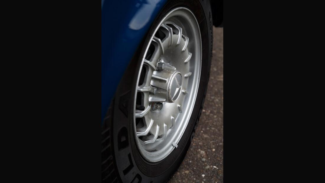 Mercedes-Benz 230 TE, Rad, Felge