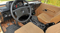 Mercedes-Benz 240 GD, Cockpit, Lenkrad