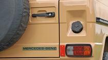 Mercedes-Benz 240 GD, Heck, Heckleuchte
