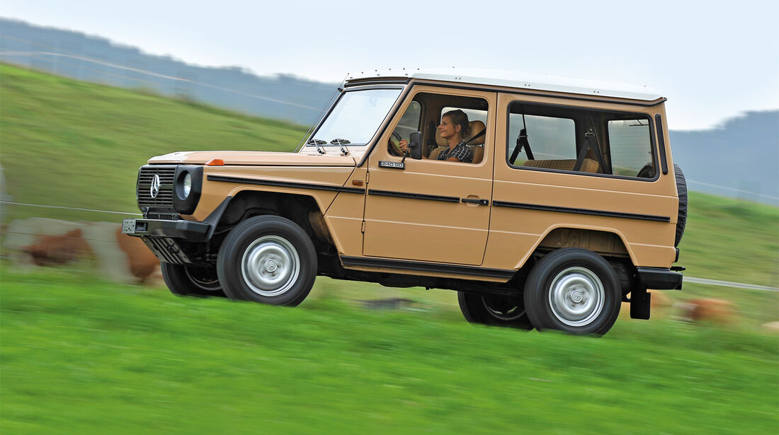 Mercedes-Benz 240 GD, Seitenansicht