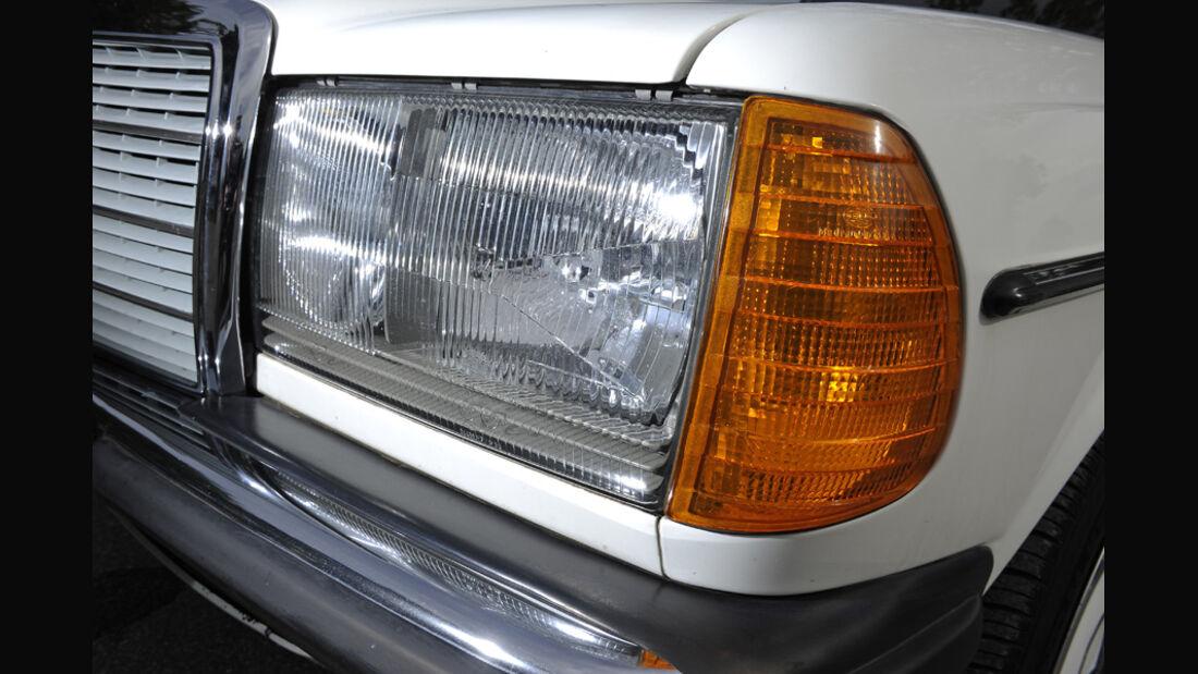 Mercedes-Benz 240 TD, Frontlicht